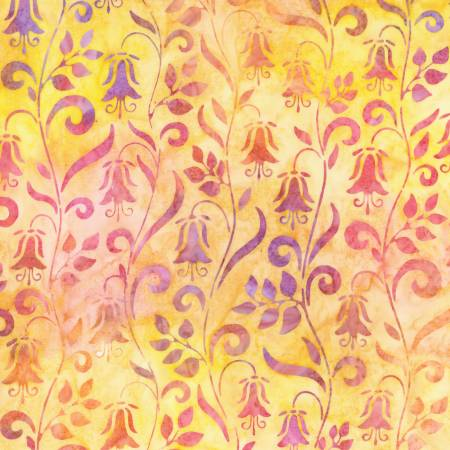 Peach Batik - Hummingbird Lane by Robert Kaufman
