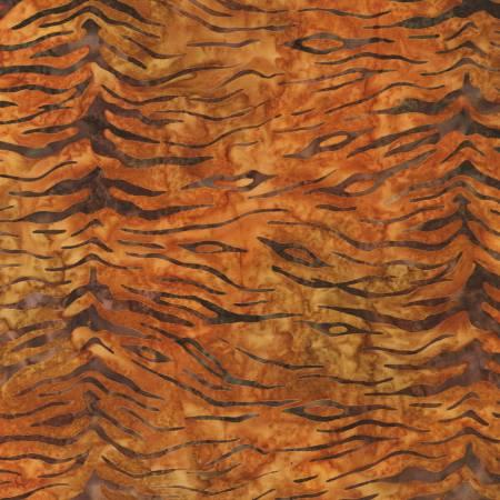 Serengeti Saffron Batik