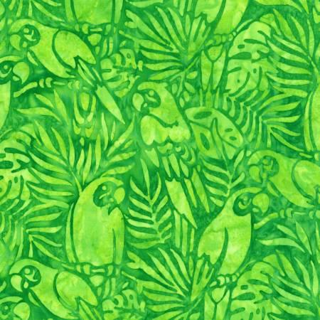 Welcome to Paradise - Birds Lime Batik