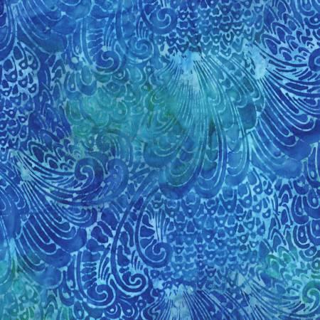 Batik RK Waves Aqua