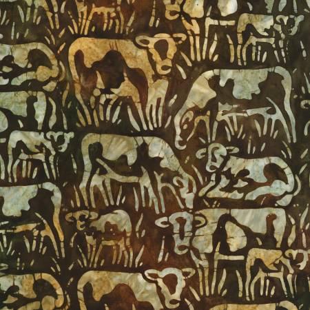 Cattle Nature Batik, Farm Country