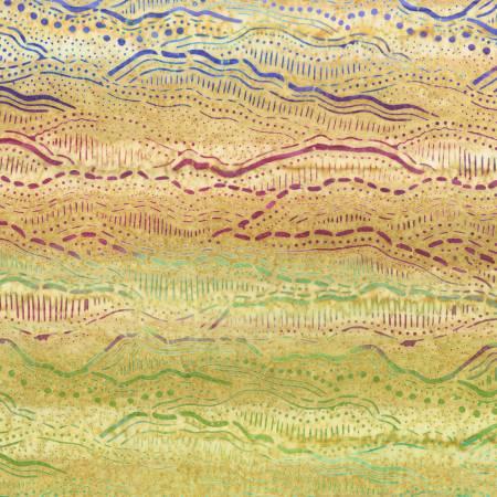 Desertscapes Mountains sand batik