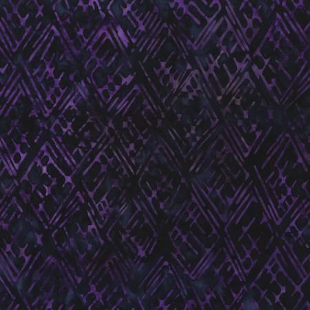 Lines Noble Purple Batik