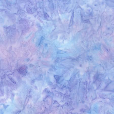 Evening Glow Mottle Lilac Batik
