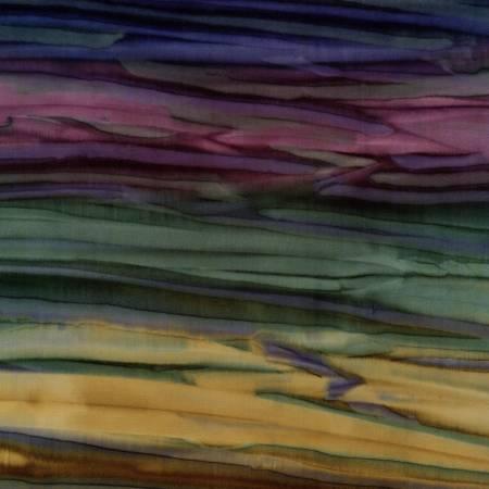 Patina Handpaints Batik - Starry Night Ombre, AMD-7018-312 - by Lunn Studios by Robert Kaufman