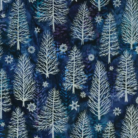 Evening Batik w/Metallic