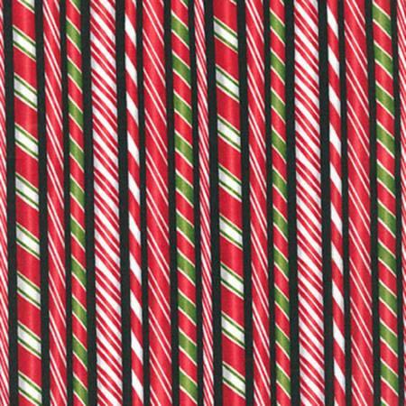 Black Candy Cane Stripe