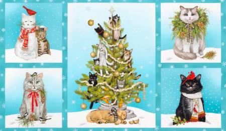 Holly Jolly Christmas  Panel AMKD-20484-223