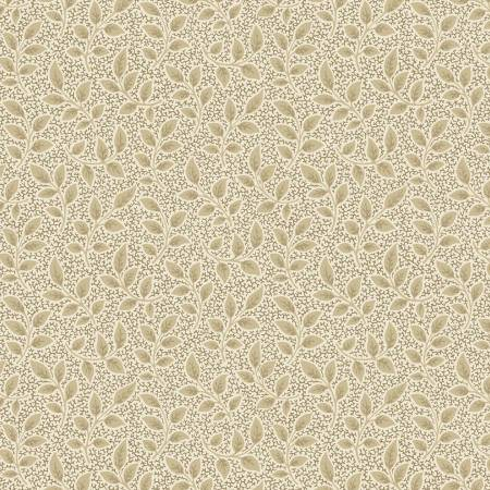 Anastasia Red Neutral Leaves