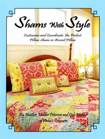 ANK296 Shams With Style Book