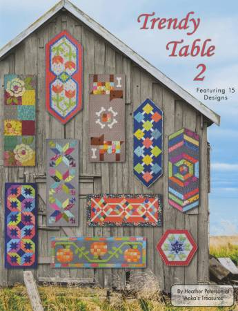 Trendy Table 2 Book 15 Table Runners