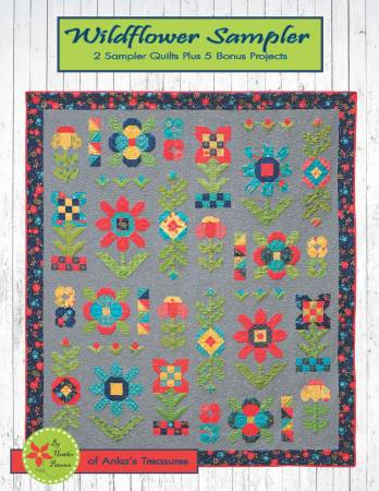 Anka's Treasures Wildflower Sampler Pattern Book