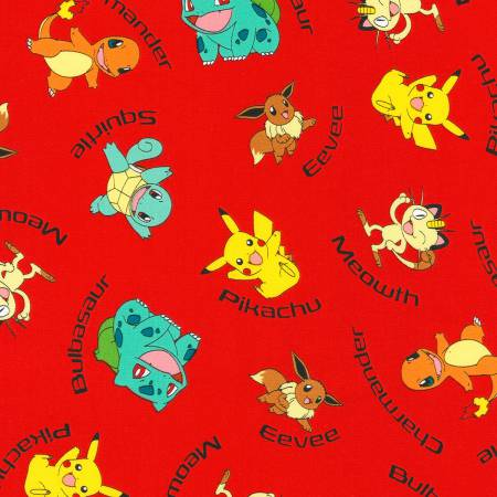Pokemon : Red Character Names - #AOQ-72015-3