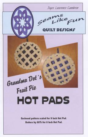 Grandma Dot's Fruit Pie Hot Pad
