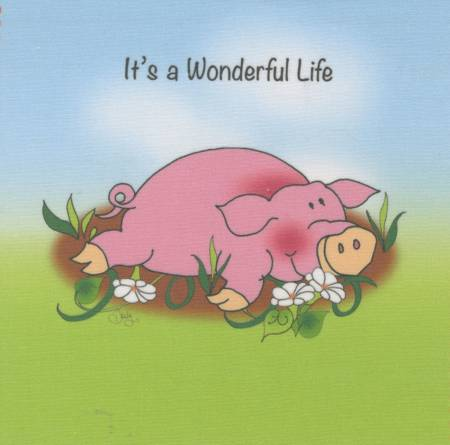 Jody's 6 Art Panel Pig Life