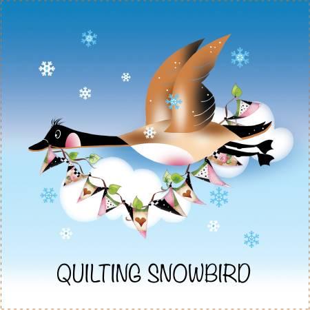Art Panel Quilted Snowbird - AP657