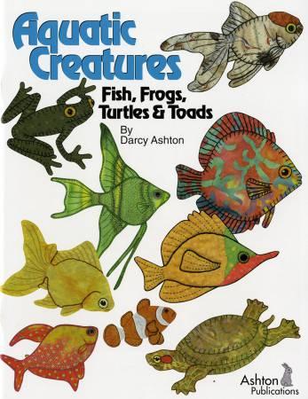 Aquatic Creatures Fish, Frogs, Turtles & Toads