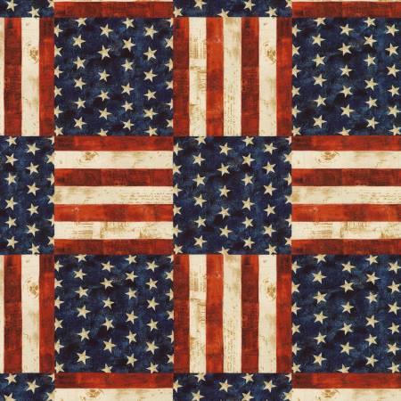 Antique America The Beautiful Digital 108in Wide Back