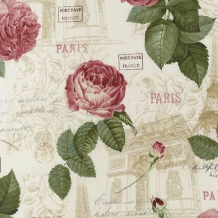 KAUF- La Vie en Rose Natural w/ Pink Roses