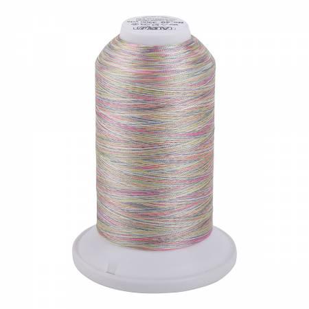 Aurifil Longarm Polyester 40wt Variegated Thread 3300yds Seashell