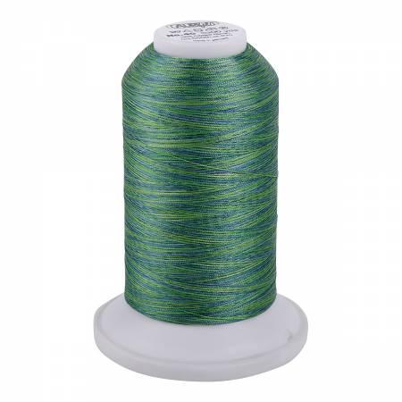 Aurifil Longarm Polyester 40wt Variegated Thread 3300yds Jade - 5509