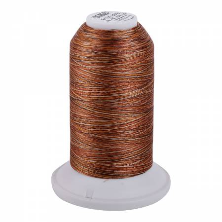 Aurifil Longarm Polyester 40wt Variegated Thread 3280yds Copper Brown