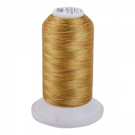 Aurifil Longarm Polyester 40wt Variegated Thread 3300yds Golden Glow - 5511