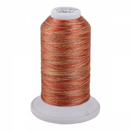 Aurifil Longarm Polyester 40wt Variegated 3280 yds 5512 Pumpkin Spice