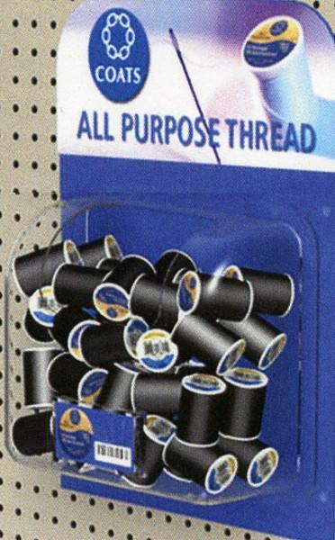 Coats & Clark All Purpose Thread Black