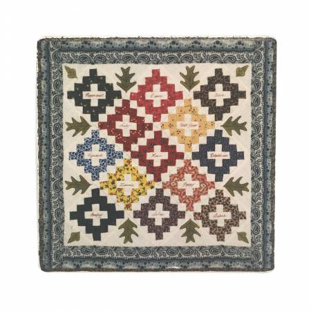 Stone American Quilt Pattern Drink & Beverage Coasters  11
