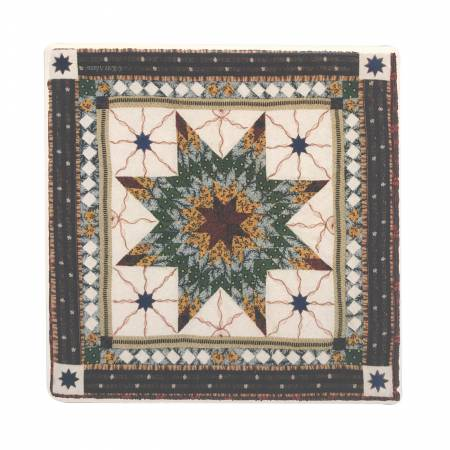 American Quilt Pattern  Stone Drink & Beverage Stone Coasters 8
