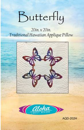 Butterfly Hawaiian Pillow