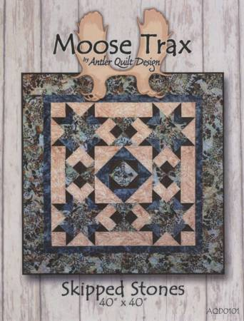 Moose Trax - Skipping Stones Pattern