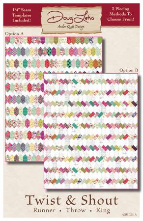 Twist & Shout 1/4in Template with Pattern