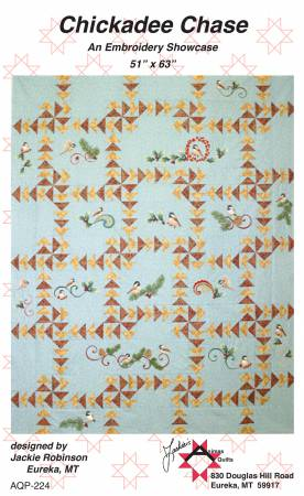 Chickadee Chase by Jackie's Animas Quilts