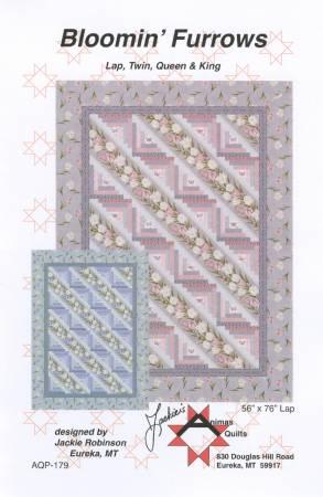 Bloomin' Furrows-Animas Quilts - AQP179