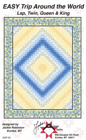 Easy Trip Around the World by Jackie Robinson of Animas Quilts