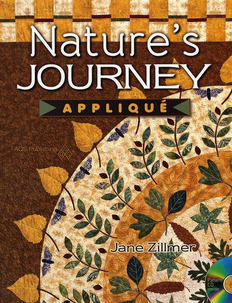 Nature's Journey Applique - Softcover