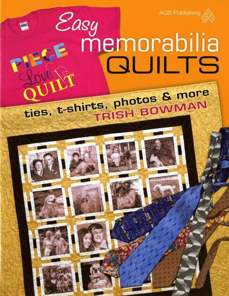 Easy Memorabilia Quilts - Softcover