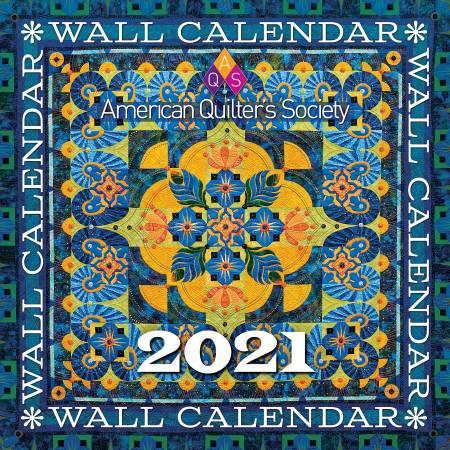 2021 AQS Wall Calendar