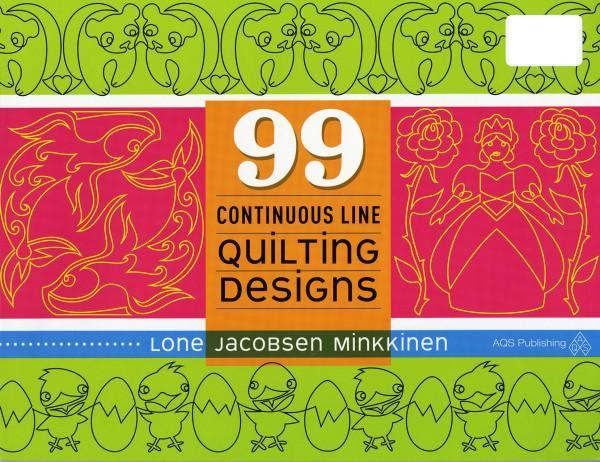 99 Continuous Line Quilting Designs - Softcover