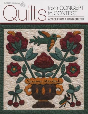 Quilts from Concept to Contest - Softcover