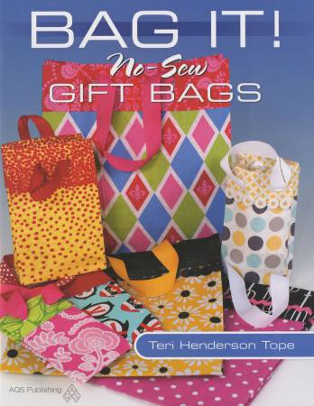 Bag It! No-Sew Gift Bags - Softcover
