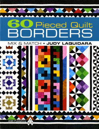 60 Pieced Quilt Borders - Softcover