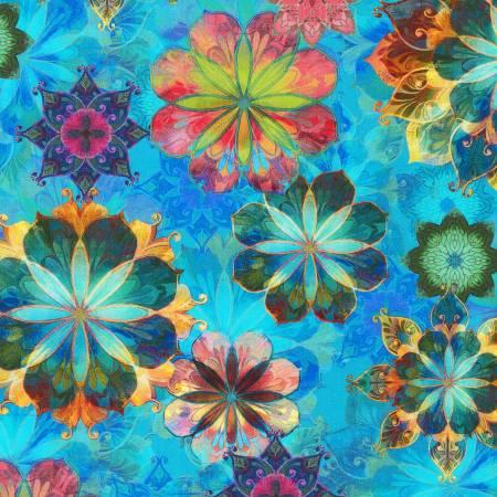 Venice - Multi Floral - AQSD19719-205