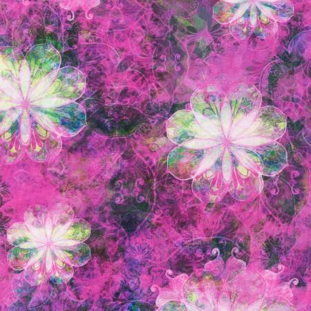 Venice - Pink Flowers - AQSD1972-110