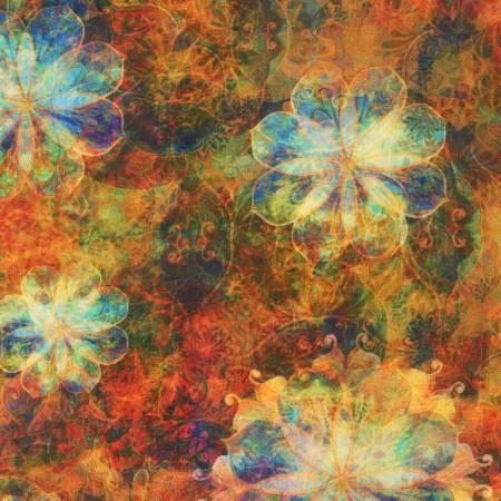 Amber Flowers