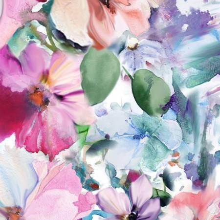 Arabesque - floral Bright multi