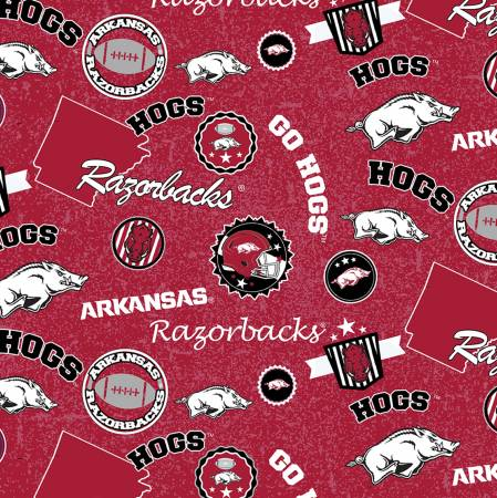 NCAA-Arkansas Razorbacks Home State Cotton ARK-1208