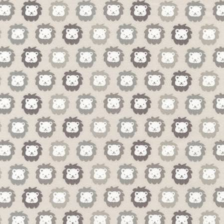 Grey Lion Flannel